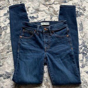 "Women's Madewell 9 "" High Rise Skinny Jeans Sz 23"